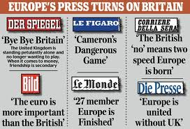 Papers on GB in Europe