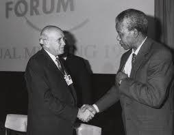 FW and Mandela