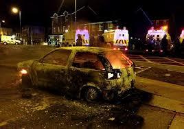 BELFAST charred streets