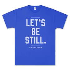 Let's Be Still