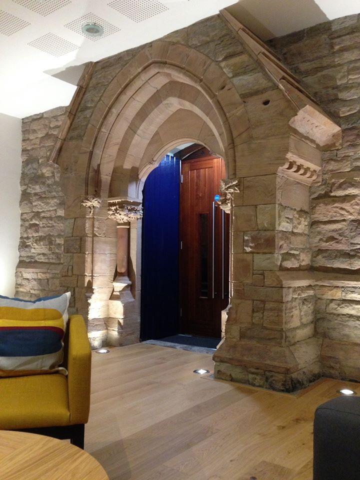 New halls... inside door