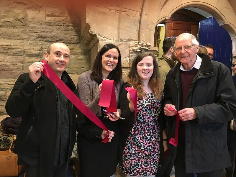 Stockies Ribbon Cut