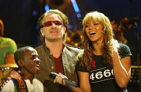 Bono and Beyoncee
