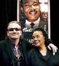 Bono and Dr King