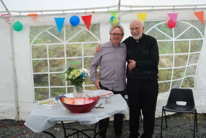 Fr Gerry and me