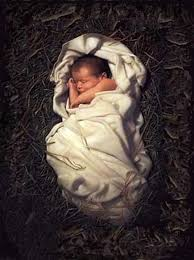 God as a baby