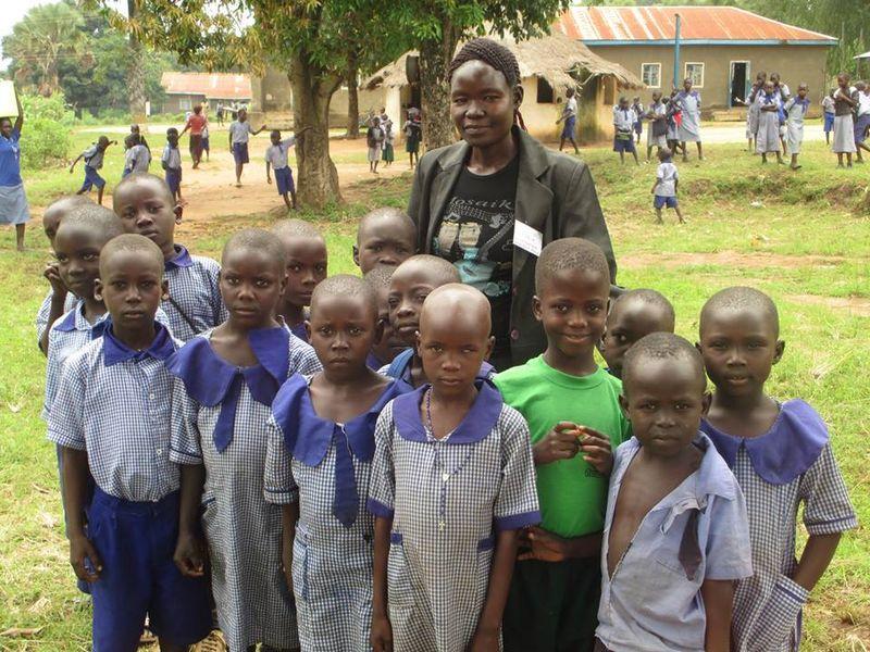 Alice and Onialeku children