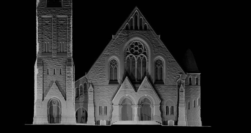 Fitzroy Church Weird Light