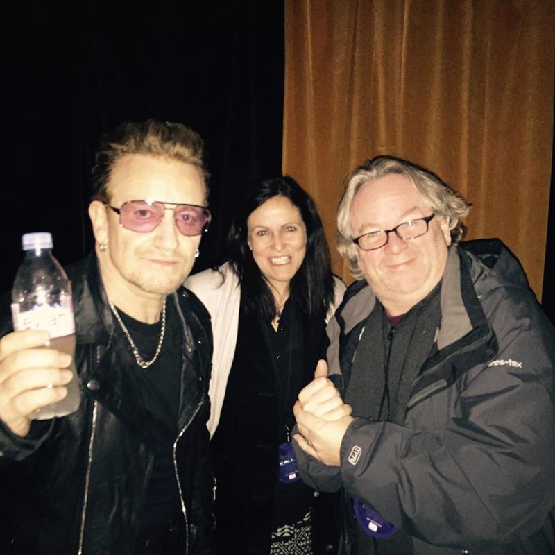 Stocki with Bono