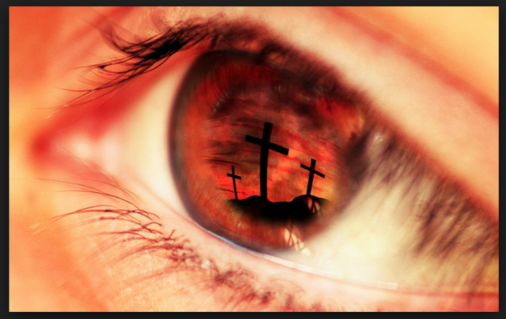 Eyes and Cross