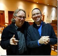 Me and fr Martin Lenadoon