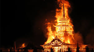 Burning Temple
