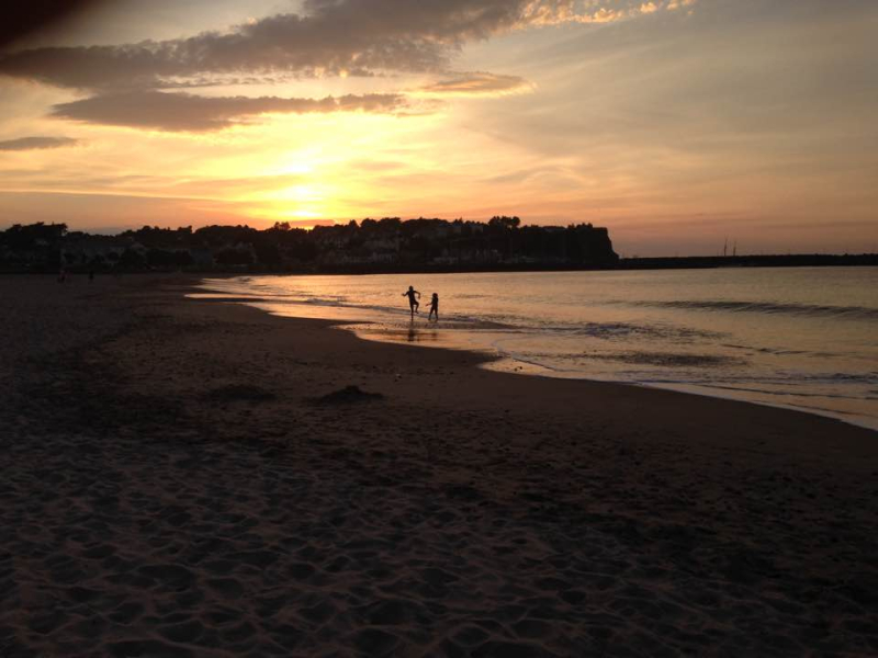 Ballycastle sunset