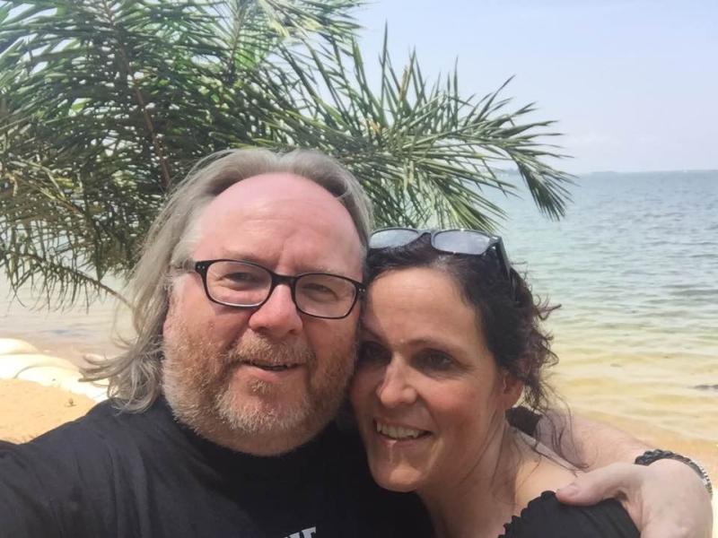 Jani and I Lake Victoria