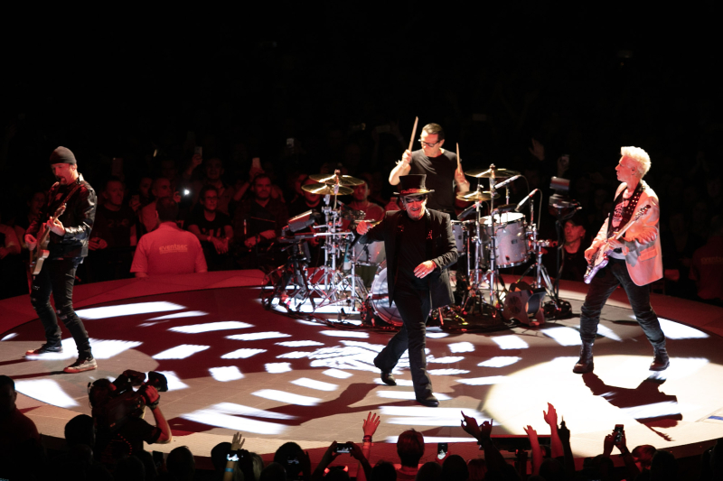 U2 B Stage