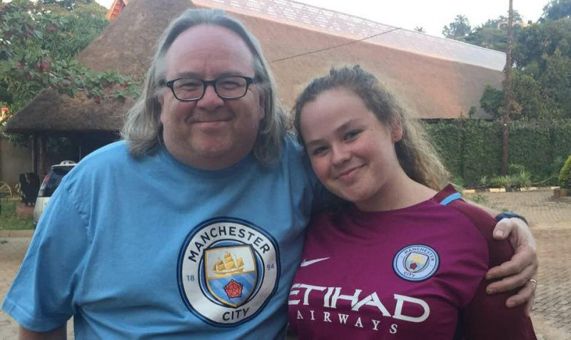 Jazzy and I in City Shirts