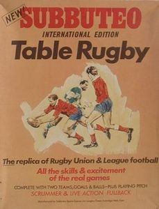 Subbuteo Rugby