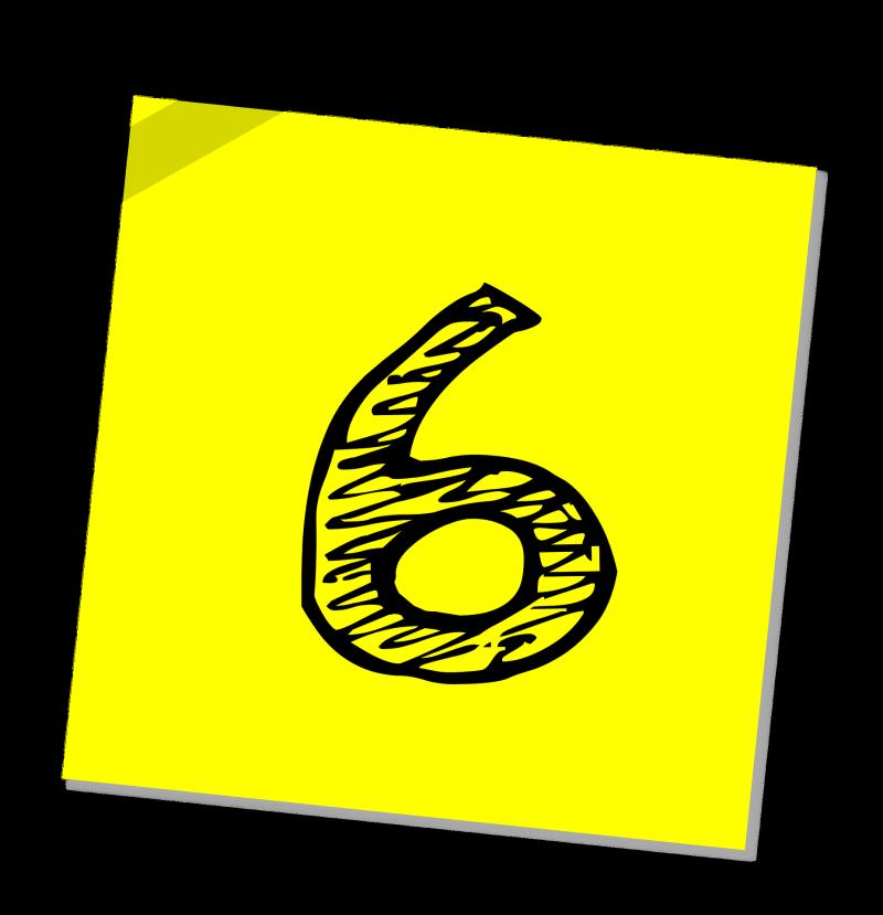 6 Yellow Tape