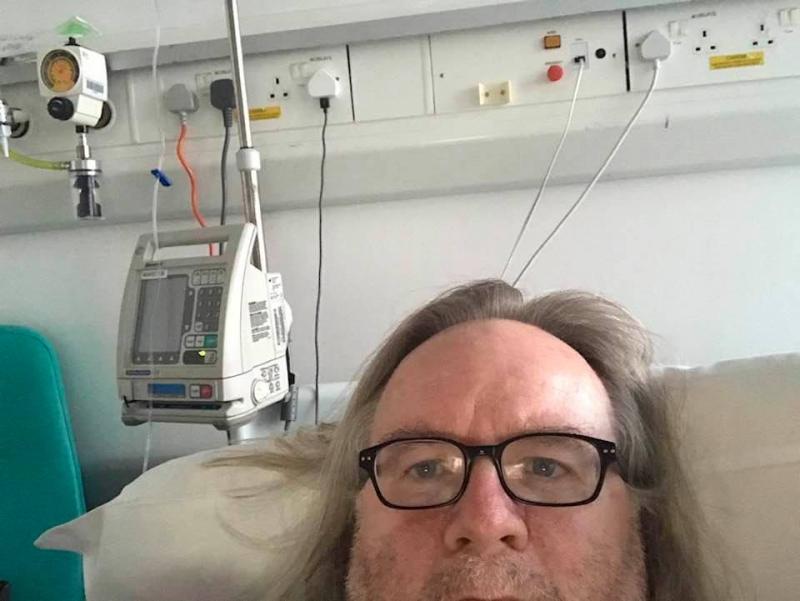 Stocki in hospital