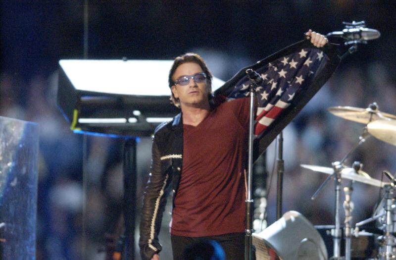 Bono American flag